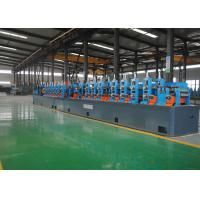 Quality High Frequency ERW Tube Mill , Welded Pipe Mill 0.8-3.0mm Max Thickness for sale
