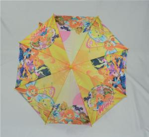 Buy Plastic Handle 19 Inch Kids Rain Umbrellas Custom Sublimation Full Printing at wholesale prices