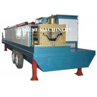 Quality Trailer Mounted ABM K Span Roll Forming Machine Curving Roof 8m/min - 12m/min for sale