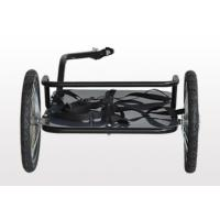 Quality Quick release axle with PUSH button wheels, max loading 50kg Bike Luggage Trailer for sale