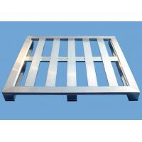 Quality 4 Way Anodized Aluminum Pallets , Industrial Extruded Aluminium Profiles for sale