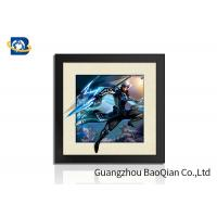 Quality Indoor Wall Art 5D Pictures Glossy / Matt / Offset Surface Effect No Harm Material for sale