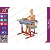 Quality High Adjustable Student Desk And Chair Set For Primary School E1 Grade Eco-friendly for sale
