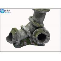 Buy Ruined Three-way Drainpipe Cool Fish Tank Decorations / Commercial Fish Tank at wholesale prices