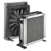 Quality Hydraulic Lubrication Aluminum Air Cooled Heat Exchanger with DC/AC Fan Driven for sale