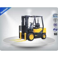 Quality 3.0 Ton AC Motor Yellow Electric Forklift Truck Hire With Isuzu C240 Engine for sale