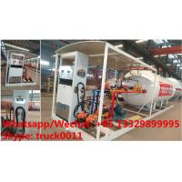 Quality China high quality and lower price 2.5tons-10tons mobile skid lpg gas refilling station with auto lpg gas dispenser(with for sale