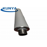 Quality High Flux 1mm Sintered Porous Stainless Steel Filters Noise Reduction for sale