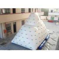 Quality Giant Iceberg Water Toys Inflatable Floating Iceberg Climbing Wall with EN14960 for sale