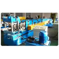 Quality Supermarket Upright Shelve Rack Roll Forming Equipment With Cr12 Mould Steel Rollers for sale
