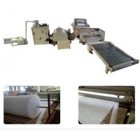 Quality Automatic Polyester Mattress Production Line High Efficient 150 Kg/H Capacity for sale