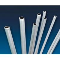 Flexible Construction Aluminum Extruded Tubes Round / Square / Rectangular Shaped for sale
