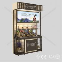 Quality 2014 Hot sale cosmetics display design showcase for sale