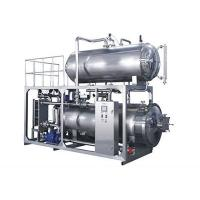 China High Efficiency Hot Water Returning Sterilizer Sterilization Machine With  PLC And Touching View on sale