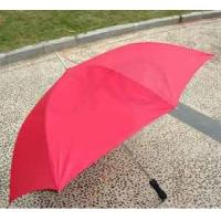Quality EASY Manual Open Vented Golf Umbrella , Red Telescopic Golf UmbrellaLong Ribs for sale
