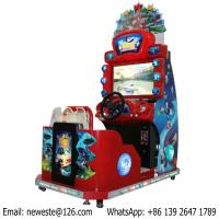 Quality Children Kids Sonic Coin Operated Simulator Driving Car Racing Arcade Game Machine for sale
