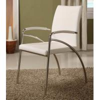Quality Contemporary  Simple Living Room Chairs High Back With Ss Base for sale