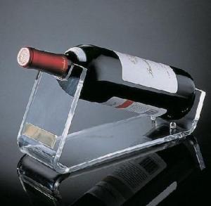 Quality Restaurant Acrylic Wine Holder / Racks With Beautiful Shape for sale