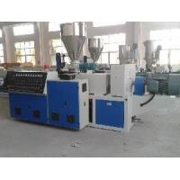 Quality Sjz Conical Twin Screw Extruder for sale