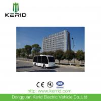 Quality Self Drive Solar Powered Electric Car , Driverless Shuttle Bus 8 Seats Laser Control for sale