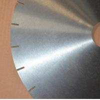China Diamond blank circular saw blade for granite/marble cutting on sale