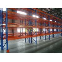 Quality Industrial Heavy Duty Pallet Racking system / Steel Rack For Warehouse SGS ISO for sale