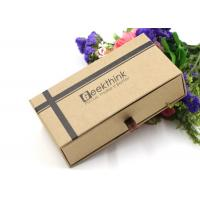 Buy Custom Printed Cardboard Pen Boxes , Clear Top Cardboard Boxes Non Smell at wholesale prices