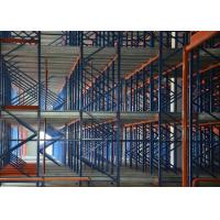 Quality Steel Material Warehouse Rack Storage Radio Shuttle Racking for sale