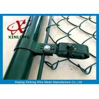 Quality Heave-duty Wire Mesh Fence , Hot Dipped Galvanized Chain Link Fence for sale