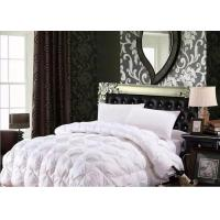 Quality 100% Cotton Luxury Duck Down Quilt / Duck Feather And Down Duvet Alternative Washed for sale
