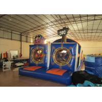 China Outdoor athletic inflatable obstacle course pirate themed digital painting inflatable obstacle courses on sale