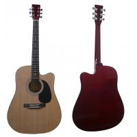 "Quality 41"" Spruce Cutaway Wood Acoustic Guitar / Western Guitar Various Color AF4129CA for sale"