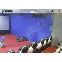 Quality Interactive Shooting 7D Cinema Set Up In Parks And Playgrounds With Immersive Experience for sale