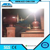 Quality Vodka Distillery Equipment For Sale & Red Copper Small Size Whiskey Distilling Equipment for sale