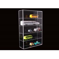 Quality 5 Layer Clear Acrylic Display Stands Airplane Cars Model Storage Rack Customised for sale
