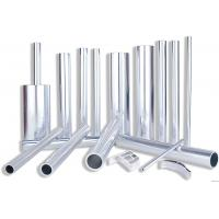 Quality 6082 Aluminum Rectangular Tubing , Industrial Moulding Thick Wall Aluminum Tubing for sale