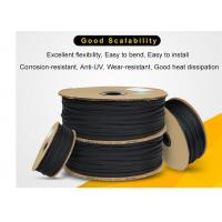 Quality Wear Resistant PET Expandable Braided Sleeving High Density For Cable Protection for sale