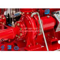 Quality High Efficiency Centrifugal Fire Pump 200 Usgpm@105PSI Ductile Cast Iron Materials for sale