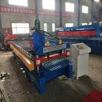 Buy cheap Roof Panel Corrugated Roll Forming Machine For Purlin 4Kw 20 m / min speed from wholesalers
