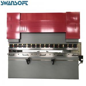 China China SWANSOFT WC67Y 80T/3200 Horizontal Hydraulic Press Brake For Plate Sheet Bending on sale