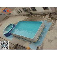 Quality Outdoor Custom Inflatable Swimming Pools Fire-resistant For Kids And Adult for sale