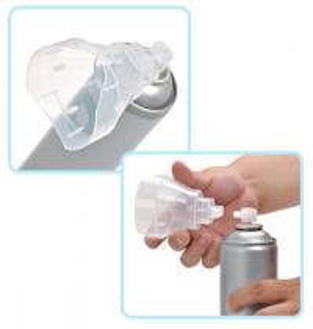 Quality Fresh Air Tin Plate Aerosol Spray Can With Masks , Empty Aerosol Can for sale