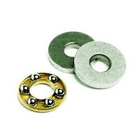 Quality F4-10 High precision Small Thrust Ball Bearings / Axial Bearings Supplied in SAE52100 for sale