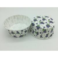 Quality Grape Pattern PET Baking Cups Food Grade Paper Material 75-40mm Varous Size for sale