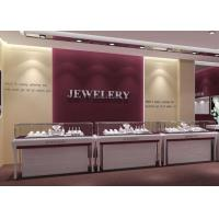 Quality Jewelry Showcase Display With  Light - Factory Inexpensive Price With Small MOQ for sale