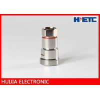 "Quality Electronic RF DIN Type 1/2"" Feeder Cable Female Antenna Connector Nickel Plated DC 2.5GHz for sale"