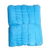 Buy cheap Standard 15*38cm non-woven blue pp disposable surgical shoe cover,prevent dust from wholesalers