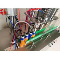 Quality 1.2CBM Aerosol Paint Filling Machine / Aerosol Filling Equipment for sale