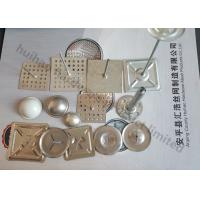 Quality Custom Self Adhesive Insulation Pins With Metal Self Locking Washer And Dome Cap for sale