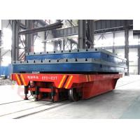 Buy cheap Conductor rail 4 wheels heavy load boiler factory rail transporters from wholesalers